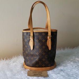 Authentic Louis Vuitton Bucket PM
